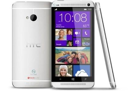 Mockup: HTC One mit WP8