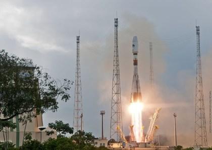 Start der O3b-Satelliten in Kourou