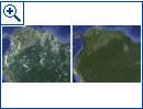 Google poliert Satellitenbilder auf