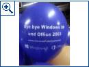 Microsoft Deutschland: Bye Bye XP Ballon-Aktion