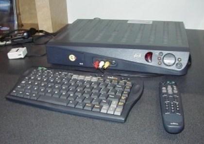 Hardware für Web TV von Microsoft