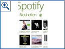 Spotify für Windows Phone 8