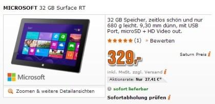Surface Preissenkung
