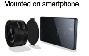 Sony Exmor R Linsen-Kamera für Smartphones