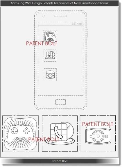 Samsung Smartphone Design-Patente