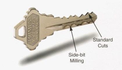 Schlage Primus-Schlüssel