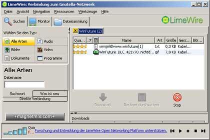Cover: LimeWire Pro 4.12.3