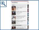 Windows Phone: Bing News