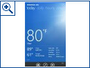 Windows Phone: Bing Wetter