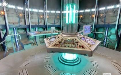 Google Maps: TARDIS-Easter Egg