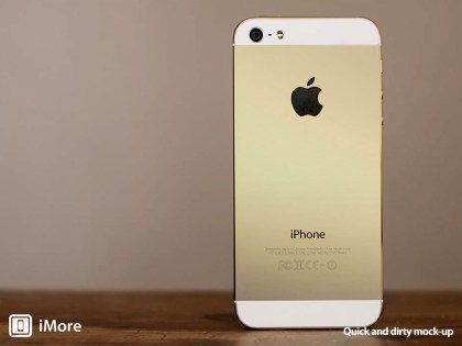 iPhone in Gold