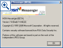 MSN Messenger 7 Beta Build 632
