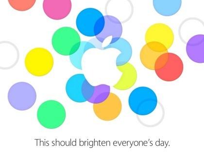 Einladung zum Apple-Event im Sept. 2013