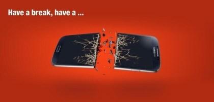 Have a break: Nokia veräppelt Samsung und Android