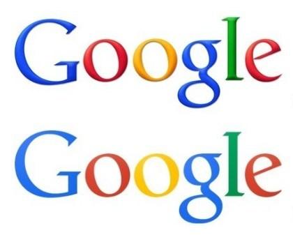 Das neue flache Google-Logo