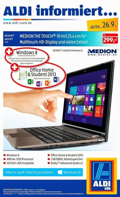 Medion Akyoa 1318T The Touch 10