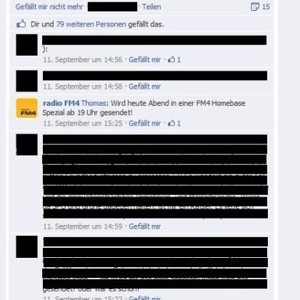 Kommentar-Verbot beim ORF auf Facebook
