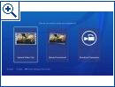 PlayStation 4: Neue Bilder der Oberfläche
