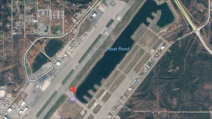 iOS Maps: Fairbanks International Airport