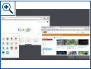 Windows 8: Chrome-Browser mit Chrome OS Features