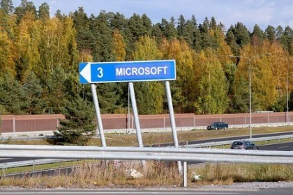 Finnische Stadt Nokia: Microsoft-Stra�enschilder