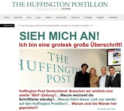 Deutsche Huffington Post gestartet
