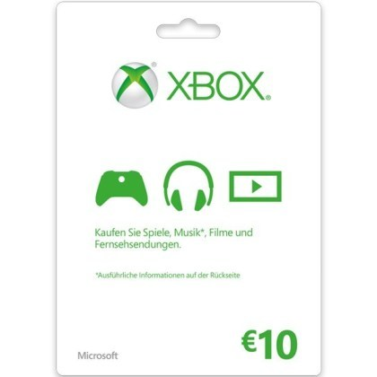 Microsoft-Guthabenkarten