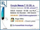 Google Social Endorsements