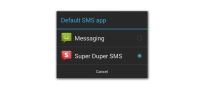 Android 4.4: SMS und MMS