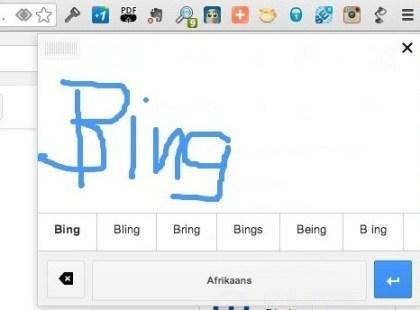 Google Handschriftenerkennung