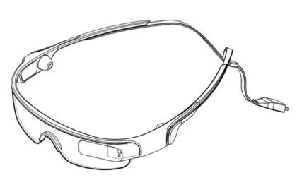Samsung-Patent zu einer Datenbrille