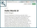 Medium: Blog-Platform von Twittergründer Williams