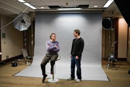 Bill Gates und Marc Zuckerberg
