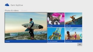 Xbox One: Skydrive-App