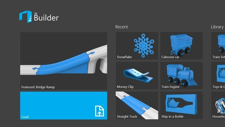 Windows 8.1 App: 3D Builder