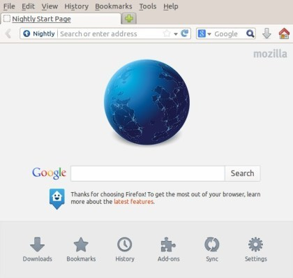 Firefox Australis Nightly-Build