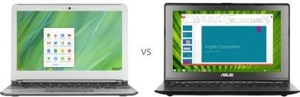 Microsoft Werbung Chromebook
