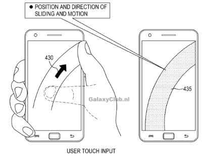 Samsung-Patent für Daumen-Bedienung