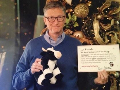 """Bill Gates als """"Secret Santa"""""""