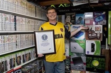 Guinness-Rekord: Die größe Spiele-Kollektion