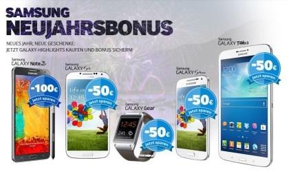 Samsung Neujahrsbonus