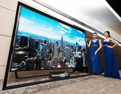 """Samsung 110""""-4K-Fernseher"""