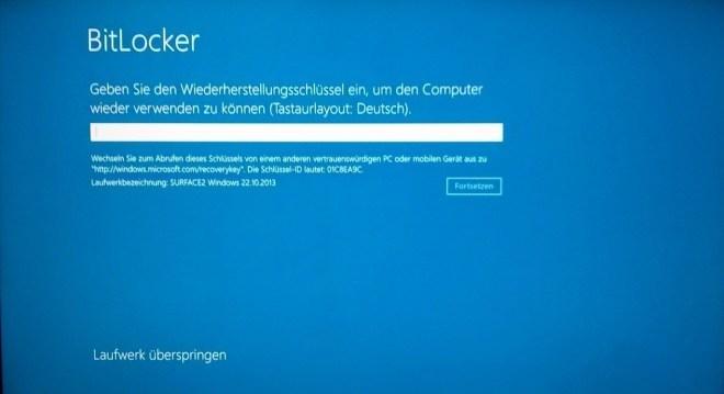 BitLocker Bugfix