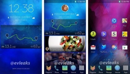 Samsungs neues TouchWiz