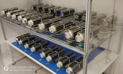 Planet Labs: Dove-Satelliten