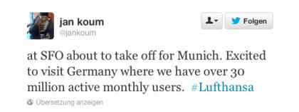 Whatsapp: 30 Mio. Nutzer pro Monat in Deutschland