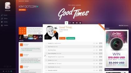 Baboom: Der neue Musikdienst von Kim Dotcom