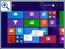 Windows 8.1 Update 1: Shutdown-Menü & mehr