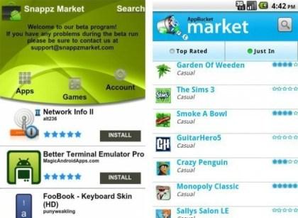 SnappzMarket und AppBucket