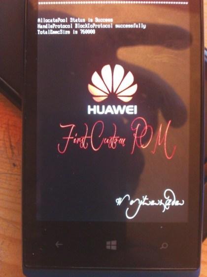 Huawei Ascend W1 Custom ROM